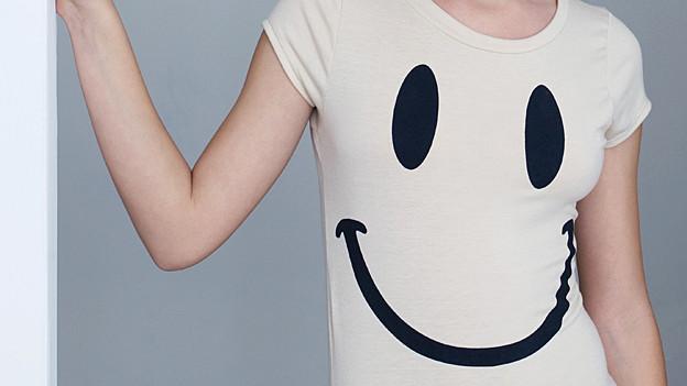 T-Shirt mit Smiley.