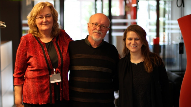 Die drei «Helden des Alltags»-Finalisten Esther Schönmann, Rolf Geiser und Tanja Reusser