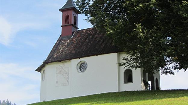 Die Kapelle St. Wolfgang von aussen.