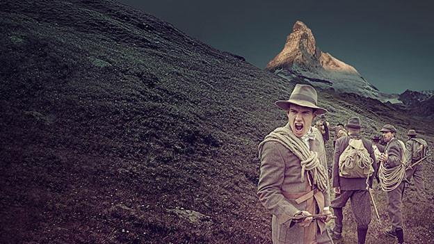 Premiere vom Theaterstück «The Matterhorn Story» ist am 9. Juli 2015 unter freiem Himmel.