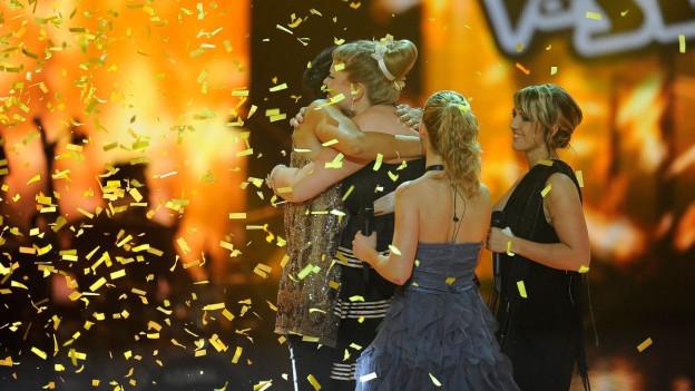 Nicole Bernegger bei ihrem Sieg.