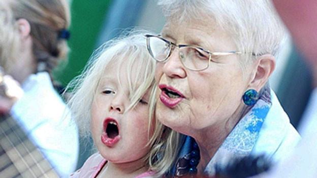 Singen ist gut für die Sprachentwicklung