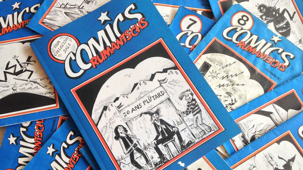 Nahaufnahme von «Comics Rumantschs»