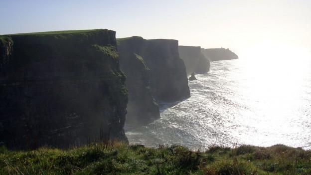 Klippen in Irland.