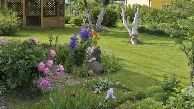 Ein gewöhnlicher Familiengarten.