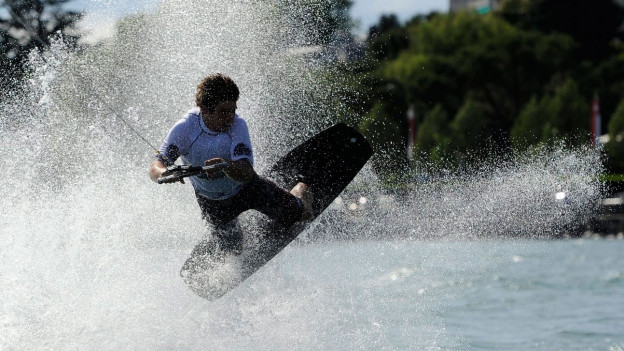Wakeboarder.
