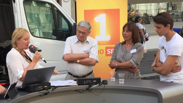 Treffpunkt Wahllokal in Luzern