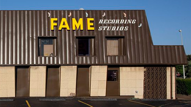 Das legendäre FAME-Studio in Muscle Shoals, Alabama.