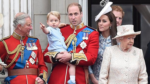 Die Royal Family in London.