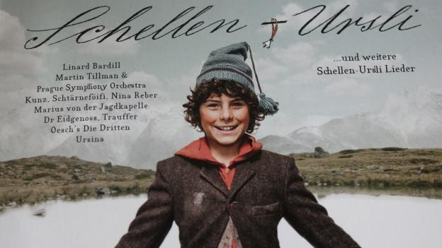 Cover der Schellen-Ursli-CD.