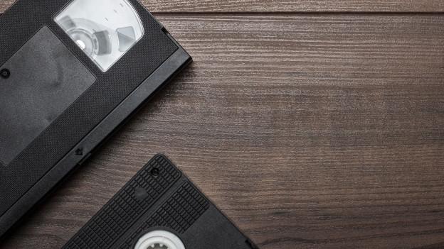 Alte Videokassette.