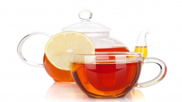 Krug mit Tee