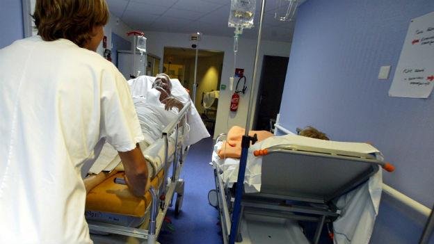 Situation in einem Krankenhaus