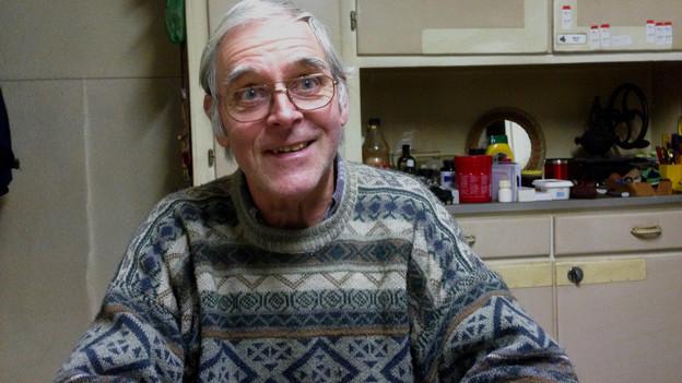 Porträtbild von Martin Frey in seiner Küche.