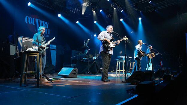 The Gatlin Brothers auf der Bühne in Gstaad.