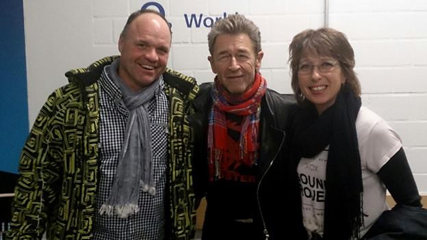 Peter Maffay hautnah: Anita Gaggioli traf den Musiker in Hamburg.