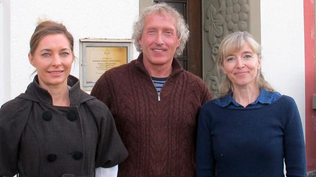 Michèle Binswanger, Anita Richner und Martin Rihs