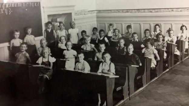 Schulklasse in Bern 1941/42.