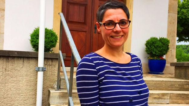 Franziska Maria von Arb (48) Sängerin und Schauspielerin ist unterwegs mit dem Bassisten David Schönhaus