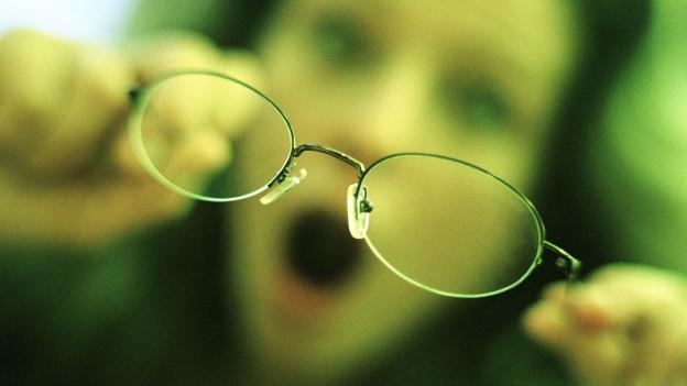 Brille ist angelaufen