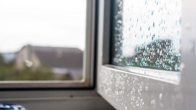 Offenes Fenster.