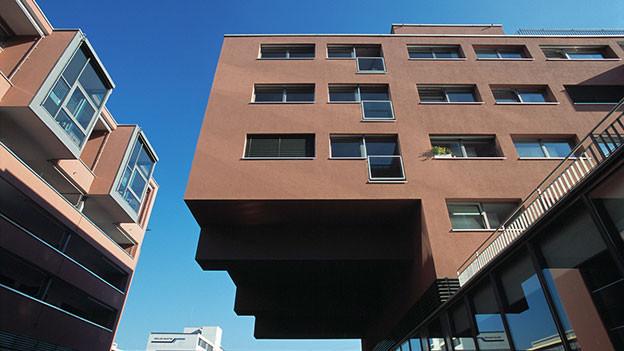 Überbauung in Zürich.