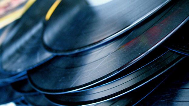 Vinylplatten.