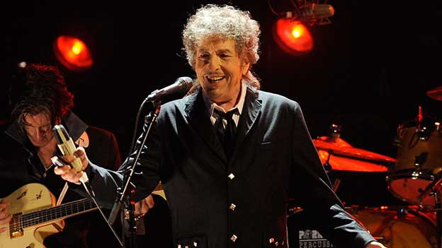 Bob Dylan 2012 auf der Bühne.