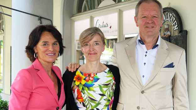 V.l.n.r.: Nina Früh, Anita Richner und Beat Käch.