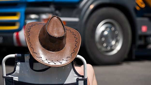 Cowboyhut.