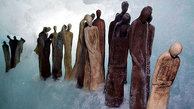 «Gratzug» der Künstlerin Katrin Riesterer
