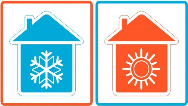 Hitze im Haus.