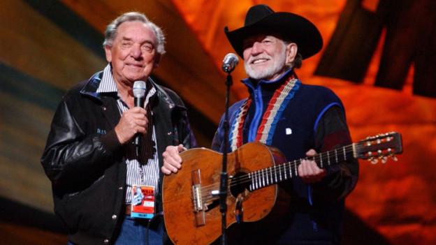 Willie Nelson und Ray Price