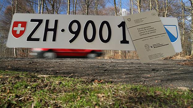 Autonummer Zürich 900'000.