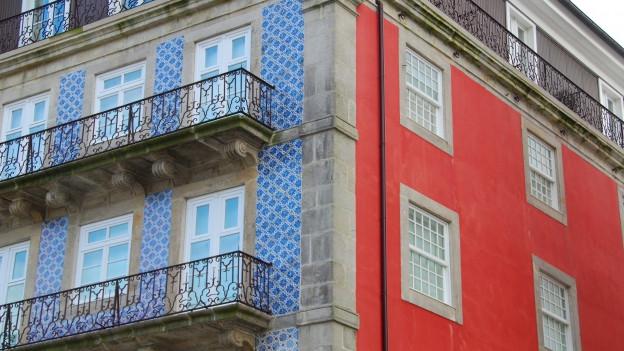 farbiges Haus