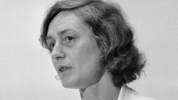 Ruth Gattiker, Pionierin der Herzanästhesie (Bild: Keystone)