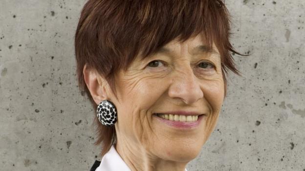 Porträtbild von Ruth Grossenbacher.