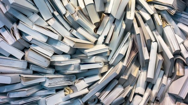Ganz viele Bücher.