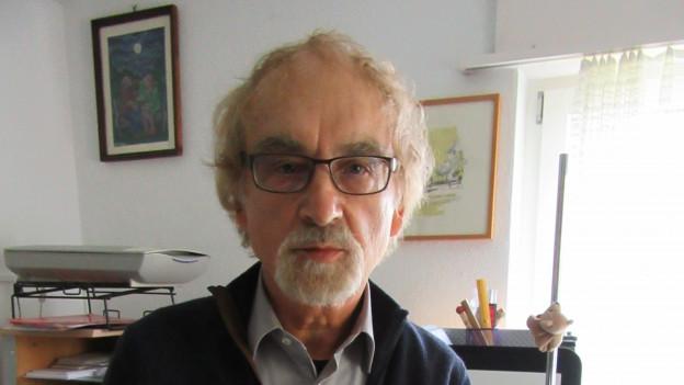Saro Marretta im Porträt.