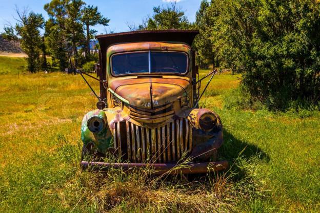 Vergessener Truck