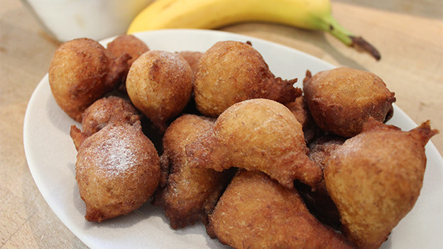 «Banana Puff Puffs».