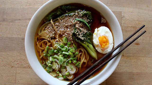 Miso Ramen Suppe.