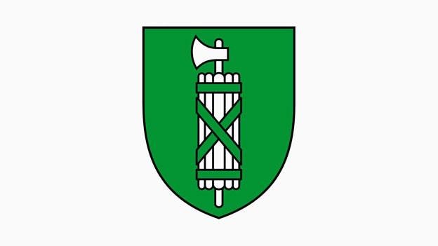 Das Kantonswappen von St. Gallen.