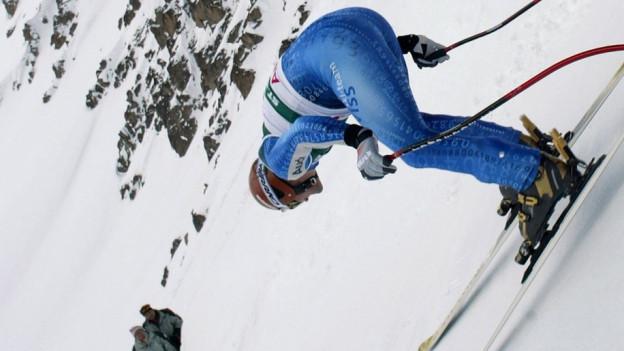 Bruno Kernen an der alpinen Ski-Weltmeisterschaften 2003