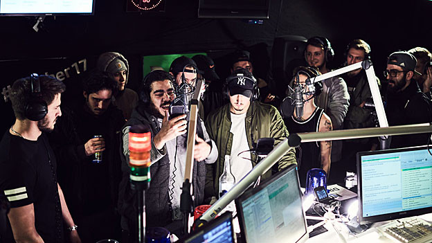 Volle Action am Virus Bounce Cypher 2017