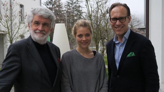 Jaël Malli trifft Ulrich Knellwolf, mit Christian Zeugin