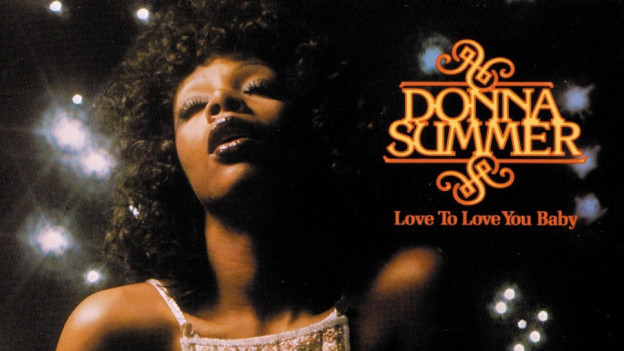 Donna Summer beim Stöhnen