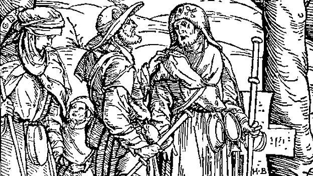 Holzschnitt aus: Johannes Geiler von Kayersberg, Predigen Teutsch 1508.