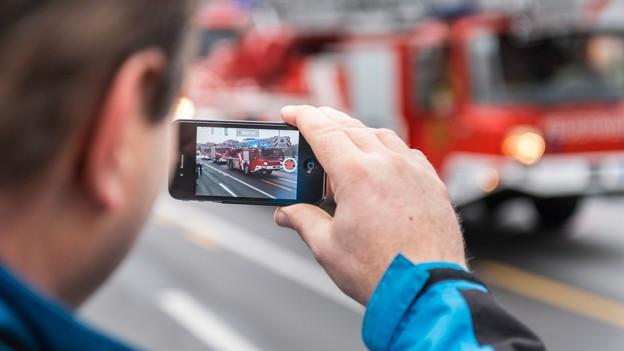 Das Smartphone ist auch eine Videokamera