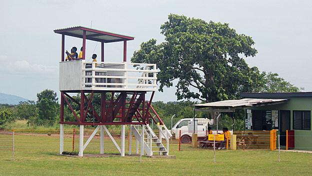 Flughafengelände in Accra, Ghana